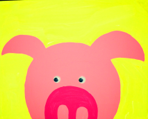 DaycareCanvasPiggy