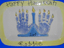 HandprintMenorah